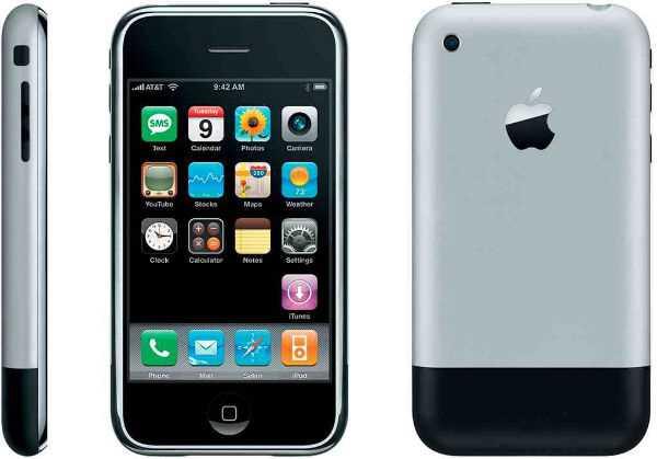 اولین آیفون ، گوشیهای اپل ، گوشیهای آیفون